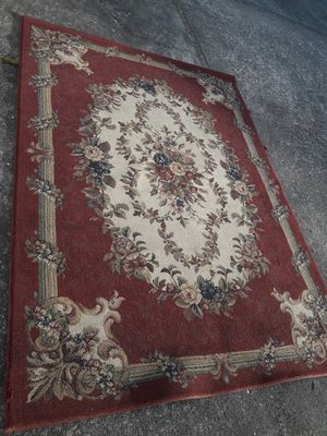 used clean rug 128x91 dimension no animals no smoke very clean for Sale in Fairfield, CT