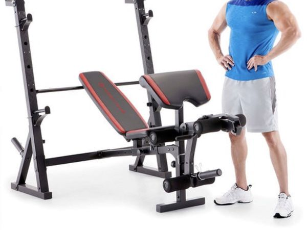 Weight Bench / Squat Rack (brand new) OFFER ME