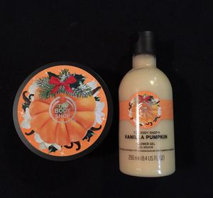 The body shop shower gel and body butter for Sale in Salem, SD