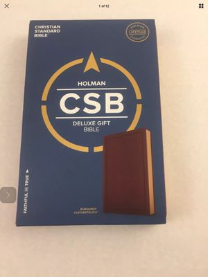 New Holman Deluxe CSB gift Bible for Sale in Wichita, KS