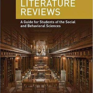 Writing Literature Reviews: A Guide for Students of the Social and Behavioral Sciences 7th Edition ebook PDF for Sale in San Diego, CA