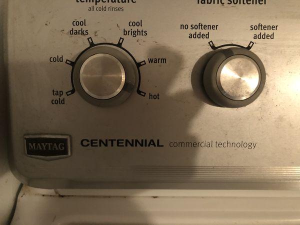 FREE washing machine and dryer— gas