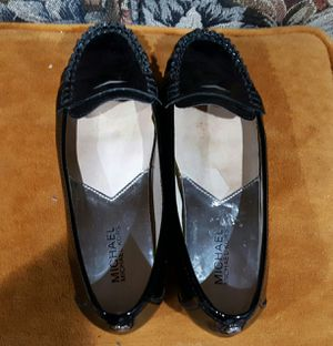 Michael Kors black penny loafer style shoes for Sale in Portland, OR