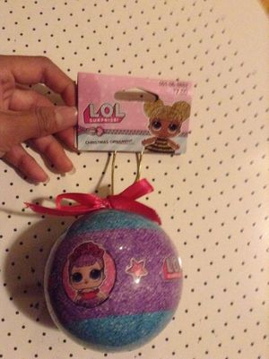 LOL doll Christmas ornament for Sale in Mukilteo, WA
