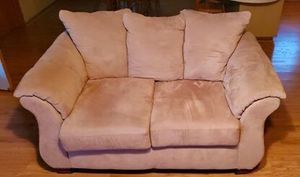 Love seat & Sofa - Microfiber for Sale in Washington, LA