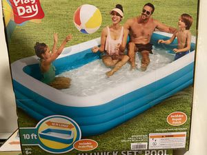 Play Day 10 Foot Family Pool for Sale in West Hartford, CT