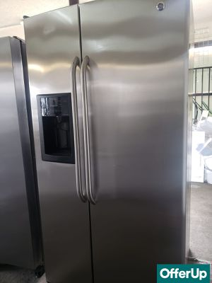 💎💎💎Stainless Steel GE Refrigerator Fridge With Warranty #1159💎💎💎 for Sale in Chino, CA
