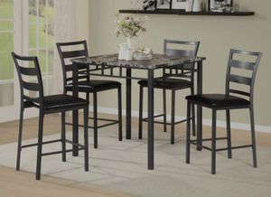 👉 ♥️$39 down payment🎈- 🦄 Othello 5-Piece Counter Height Set | 3475 for Sale in West Laurel, MD