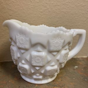 West Moreland Milk Glass Creamer for Sale in Tampa, FL