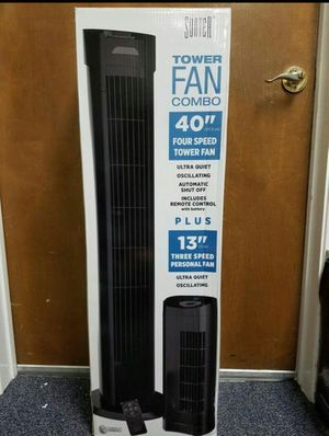 Tower fan combo remote control for Sale in Arlington, TX