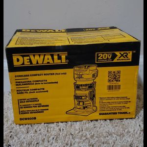 Brand new never used DEWALT 20-Volt MAX XR Lithium-Ion Cordless Brushless Router (Tool-Only) $$ 130 firm for Sale in Bakersfield, CA