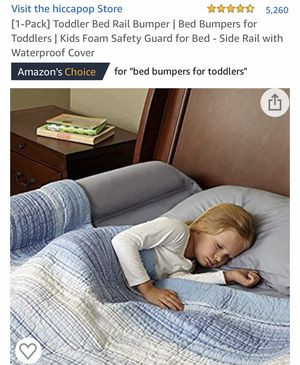 Toddler Bed Bumper $10 for Sale in Temecula, CA