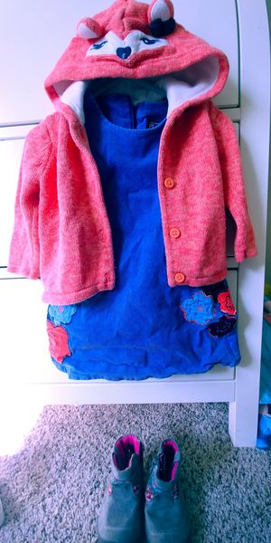 Kids-girl clothing size 18 month -shoes size 4 .All for $15 for Sale in Bonney Lake, WA