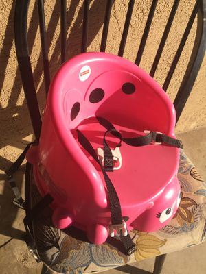 Girls booster seat for chair for Sale in Visalia, CA