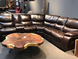 New & In Stock Sectional! Gel Leather Brown Manual Sectional Only $1699! for Sale in Vancouver,  WA