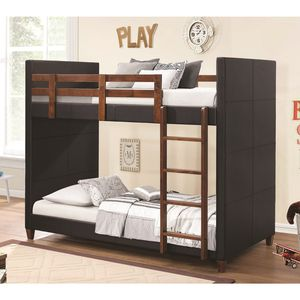 Twin/Twin bunk bed with mattresses included for Sale in Las Vegas, NV