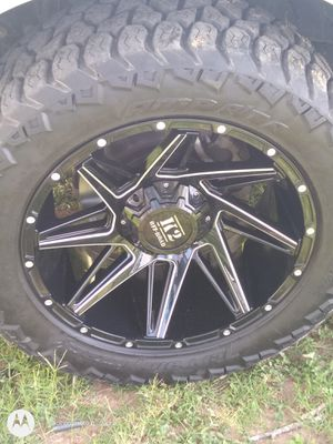 K2 Off-Road 22' Terrian Attack AMP LT285/55r20 122/119 AMP A/TP for Sale in Victoria, TX