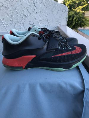 Nike KD VII 7 Good Bad Apples Black/Action Red/Medium Mint Size 12. for Sale in Cerritos, CA
