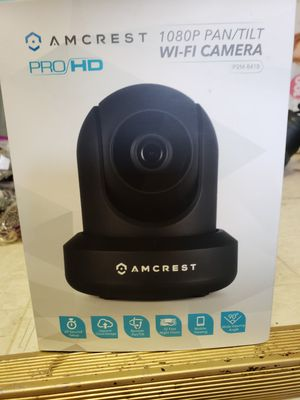 Amcrest pro HD 1080p pan/tilt wifi camera baby monitor home security pet watcher for Sale in Jacksonville, FL
