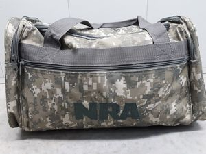 NRA CAMO Duffle bag Military Travel Camping Hunting . New w/o Tags for Sale in Romeoville, IL