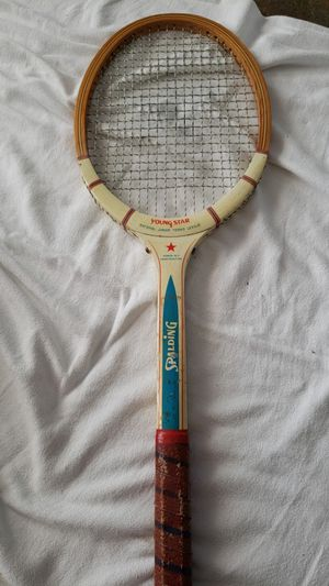 Vtg Spalding young star national junior tennis league tennis racket for Sale in Philadelphia, PA