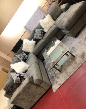 Furniture of sectional El Rio furniture finance available down payment $39 1456 belt line rd suite 121 Garland tx 75044 Open from 9:30-8:30 for Sale in Garland, TX
