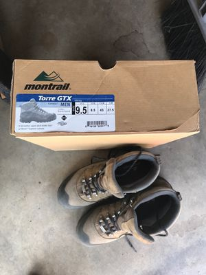 Montrail Torre GTX men's size 9.5 hiking boots for Sale in San Diego, CA