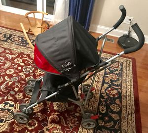Great umbrella stroller, red & black! for Sale in Downers Grove, IL
