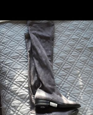 Aldo thigh-high gray boots, NEW for Sale in Sheridan, CO