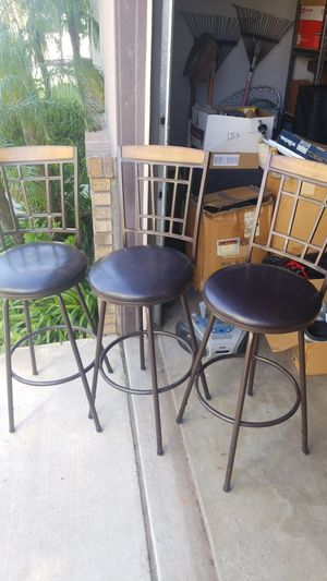 Bar Stools - 3 for Sale in Fontana, CA
