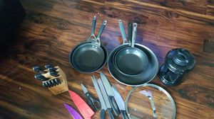 Fry pans and miscellaneous for Sale in Puyallup, WA