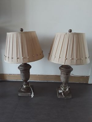 2 LAMPS. for Sale in Sunrise, FL