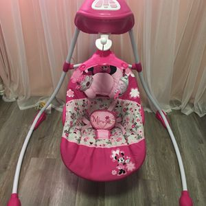 Mini Mouse Baby Swing for Sale in Upland, CA