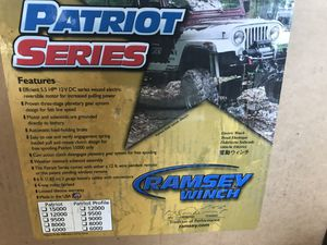 Patriot series Ramsey winch for Sale in Miami, FL