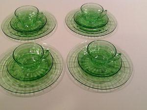 Green Depression Glass for Sale in Oakton, VA