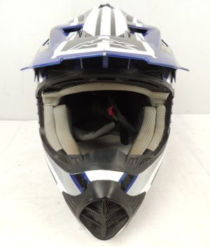 AFX Motorcycle / Motocross Helmet, Blue and White size MEDIUM for Sale in Modesto, CA