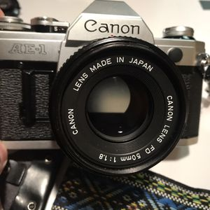 Canon AE-1 35mm Film Camera with 50mm Lens for Sale in Rancho Santa Margarita, CA