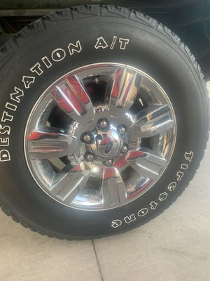 Ford f150 rims and tires 6x135 for Sale in Bolingbrook, IL