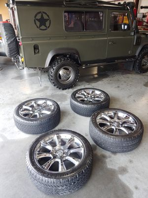 """Chevy/GMC/Cadillac 22"""" OEM rims (OBO) for Sale in Richmond, TX"""