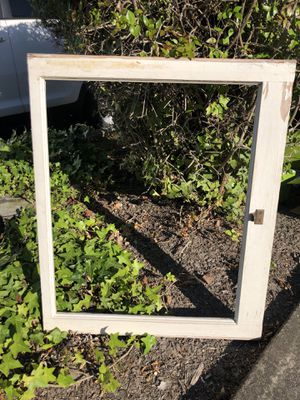 Antique Window Frame, no glass for Sale in Pinole, CA