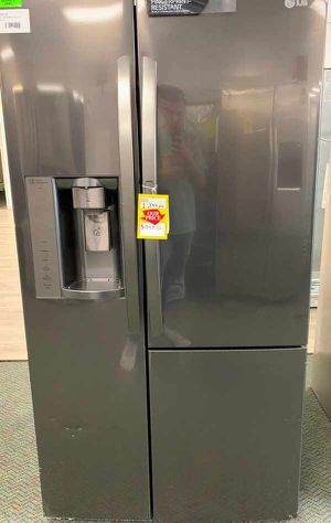 Brand New Side by Side!!! LG Refrigerator! Fridge comes with Warranty! 63A2 for Sale in Orange, CA