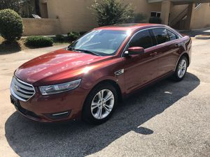 Beautiful 2014 Ford Taurus SEL 102k miles fully loaded ready for you to take home and enjoy. Sunroof, leather, new tires, currently emissions and run for Sale in Fayetteville, GA