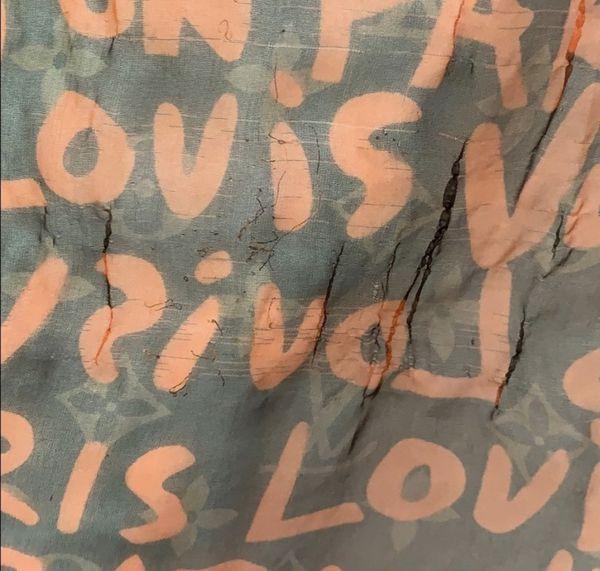 Louis Vuitton x Stephen Sprouse Graffiti Scarf