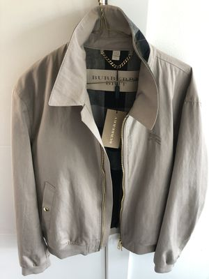New Burberry jacket/coat ,tan,XL.$299 obo for Sale in Kent, WA