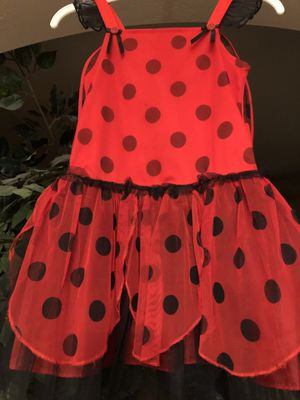 Costume Lady Bug - size 6 girls - $3 for Sale in Avondale, AZ