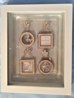 """things remembered shadow box frame 8""""x10"""" with 4 picture frames- for Sale in Northfield, OH"""