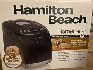 Digital Bread Maker Hamilton Beach for Sale in New York, NY
