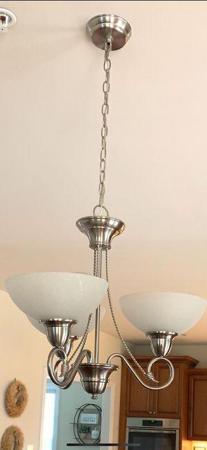 Beautiful 3 Bulb Chandelier for Sale in PRNC FREDERCK, MD