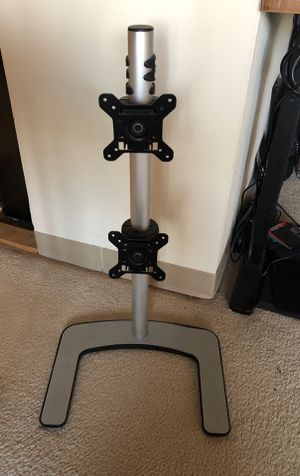 Visidec dual vertical monitor mount / stand for Sale in Redwood City, CA