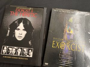 Exorcist II & Exorcist III DVD's for Sale in El Monte, CA